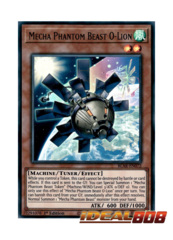 Mecha Phantom Beast O-Lion - BLAR-EN072 - Ultra Rare - 1st Edition