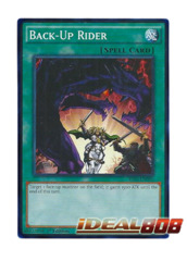 Back-Up Rider - YS16-EN030 - Common - 1st Edition
