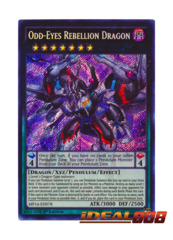 Odd-Eyes Rebellion Dragon - MP16-EN078 - Secret Rare - 1st Edition