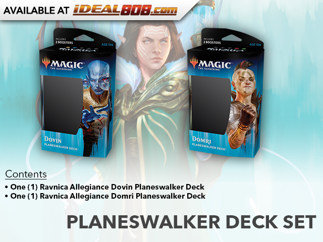 Ravnica Allegiance (RNA) Planeswalker Deck Set [Both Decks]