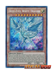 Deep-Eyes White Dragon - MVP1-ENS05 - Secret Rare - 1st Edition