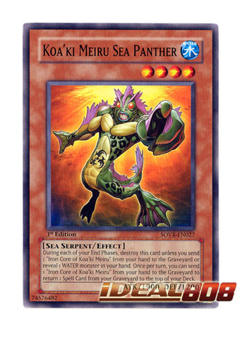 Koa'ki Meiru Sea Panther - SOVR-EN027 - Common - Unlimited