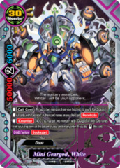 Mini Geargod, White [S-BT01A-UB03/0055EN C (FOIL)] English