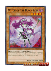 Witch of the Black Rose - LED4-EN030 - Common - 1st Edition