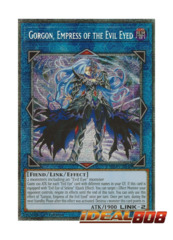 Gorgon, Empress of the Evil Eyed - CHIM-EN048 - Prismatic Secret Rare - 1st Edition
