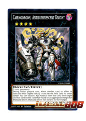 Cairngorgon, Antiluminescent Knight - WIRA-EN049 - Common - 1st Edition
