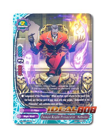 Demon Realm Prosecutor, Nebiros [D-BT01/0096EN C (FOIL)] English