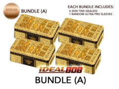 Yugioh 2020 Tin - Bundle (A) - Get x4 Tins + Bonus Item * PRE-ORDER Ships Aug.28