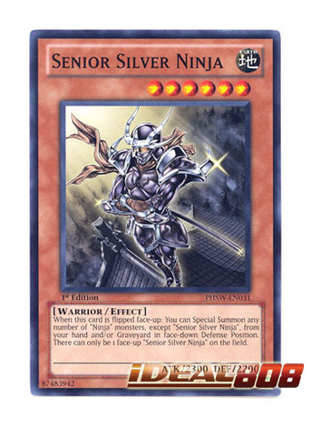 Senior Silver Ninja - PHSW-EN031 - Common - 1st Edition