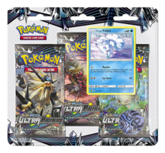SM Sun & Moon - Ultra Prism (SM05) Pokemon 3 Pack Blister