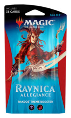 Ravnica Allegiance (RNA) Themed Booster Pack - Rakdos [35 cards]
