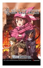 Sword Art Online Alternative : Gun Gale Online (English) Weiss Schwarz Booster Pack [8 Cards]