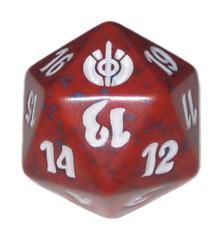 MTG Spindown 20 Life Counter - Mirrodin Besieged (Red)