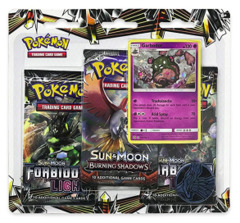 Sun & Moon - Forbidden Light 3 Pack Blister - Garbodor
