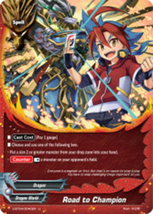 Road to Champion [S-BT04/0040EN U (FOIL)] English