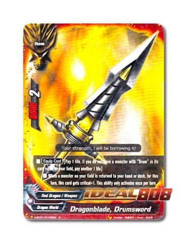 Dragonblade, Drumsword [H-BT01/0109EN R] English Rare