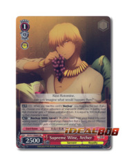 Supreme Wine, Archer [FZ/S17-E060S SR (FOIL)] English