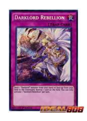 Darklord Rebellion - DESO-EN036 - Secret Rare - 1st Edition