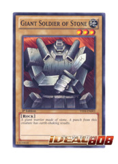 Giant Soldier of Stone - YSYR-EN003 - Common - 1st Edition