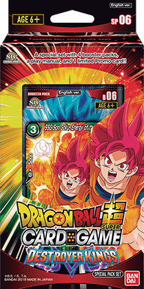 Dragon Ball Super CCG Set 6 Destroyer Kings ALL Leaders