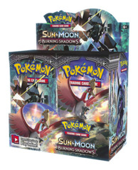 SM Sun & Moon - Burning Shadows (SM03) Pokemon Booster Box [36 Packs]