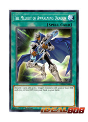 The Melody of Awakening Dragon - LED3-EN009 - Common - 1st Edition