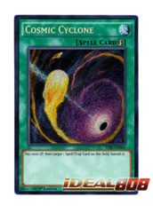 Cosmic Cyclone - TDIL-EN065 - Secret Rare - 1st Edition