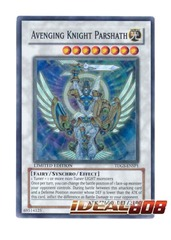 Avenging Knight Parshath - TDGS-ENSP1 - Super Rare - Limited Edition