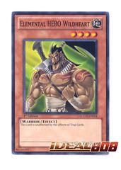 Elemental HERO Wildheart - LCGX-EN014 - Common - 1st Edition