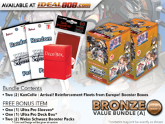 Weiss Schwarz Bundle (A) Bronze-x2 KanColle: Arrival! Reinforcement Fleets from Europe! Booster Box + FREE Bonus