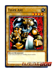 Tiger Axe - MIL1-EN031 - Common - 1st Edition