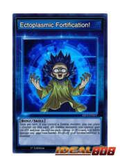 Ectoplasmic Fortification! - SBLS-ENS01 - Super Rare - 1st Edition