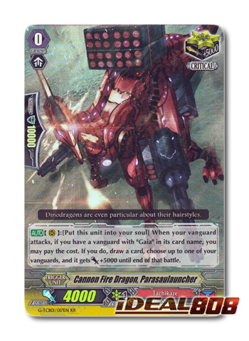 Cannon Fire Dragon, Parasaulauncher - G-TCB01/017EN - RR