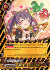 I-It's So Delicious!! [S-BT06/0004EN RRR (FOIL)] English