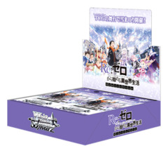 Re:ZERO - Starting Life in Another World Memory Snow | Re:ゼロから始める異世界生活 (Japanese) Weiss Schwarz Booster Box [16 Packs]