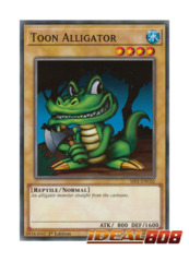 Toon Alligator - SS01-ENC02 - Common - 1st Edition