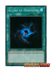 Allure of Darkness - DASA-EN054 - Super Rare - 1st Edition