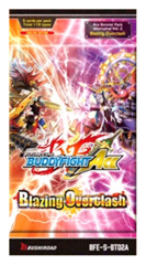 BFE-S-BT02A Blazing Overclash (English) Future Card Buddyfight Ace Booster Pack [5 Cards]
