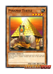 Pyramid Turtle - SR07-EN015 - Common - 1st Edition