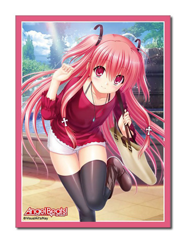 Angel Beats! -1st beat- Yui Character Sleeve (80ct)