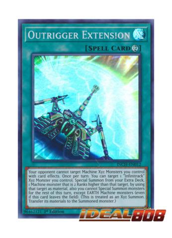 Outrigger Extension - INCH-EN012 - Super Rare - 1st Edition