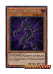 Vision HERO Vyon - BLHR-EN059 - Secret Rare - 1st Edition