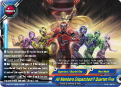 All Members Dispatched!? Quartet Five [D-BT01A-EB02/0063EN C (FOIL)] English