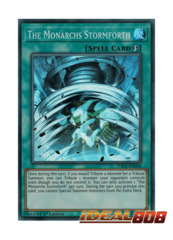 The Monarchs Stormforth - DASA-EN044 - Super Rare - 1st Edition