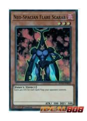 Neo-Spacian Flare Scarab - SHVA-EN033 - Super Rare - 1st Edition
