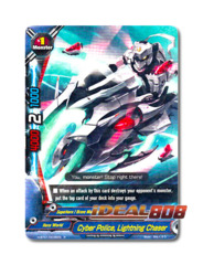 Cyber Police, Lightning Chaser [H-BT01/0036EN R] English Rare