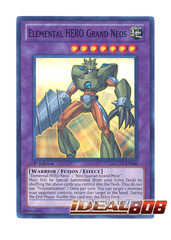 Elemental HERO Grand Neos - LCGX-EN060 - Super Rare - 1st Edition