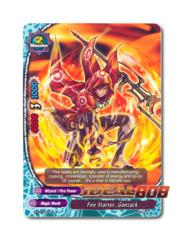 Fire Starter, Ganzack - BT01/0053EN (UC) Uncommon