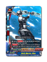 Ninth Warrior, Nine [H-BT01/0038EN R] English Rare