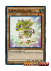 Babycerasaurus - SR04-EN013 - Common - Unlimited Edition